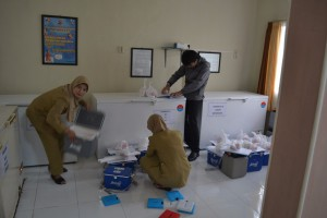 persiapan logistik PIN